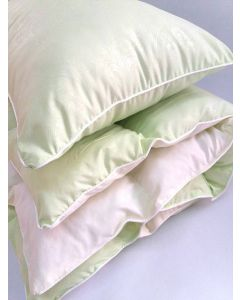 Комплект ковдра 105x145 і подушка 40x60 салатовий