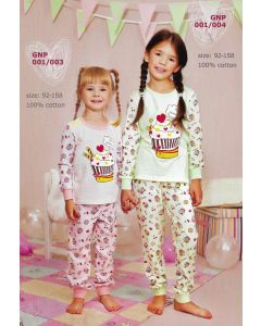 Піжама для дівчинки ELLEN GNP 001/004