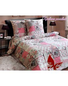 Комплект постільної білизни TAG Прованс розовый